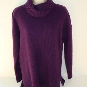 Cynthia Rowley M purple cashmere sweater